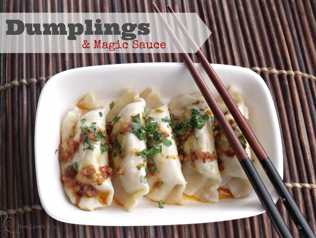Modern & Bloom - Dumplings & Magic Sauce