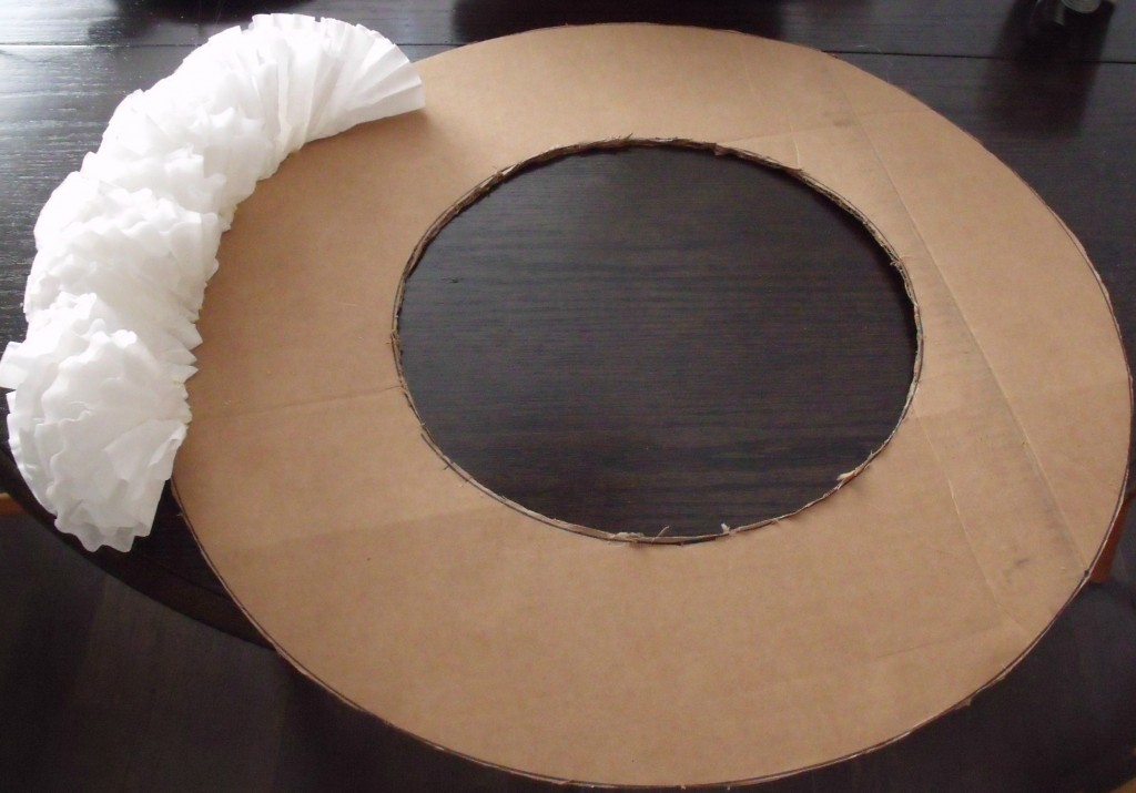 Coffee Filter Wreath |How Lovely It Is