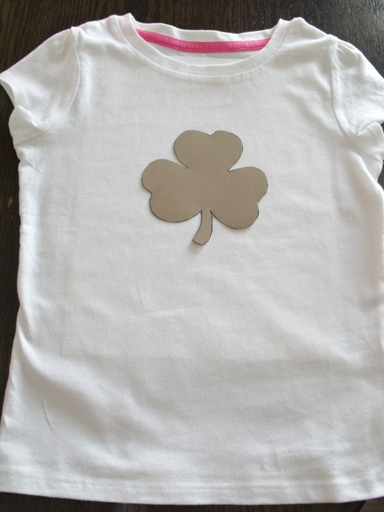 St. Patrick's Day Painted T-Shirt